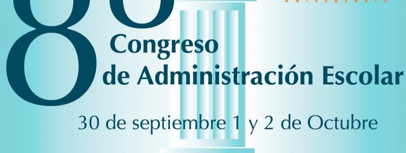 Registro 8° Congreso de Administración Escolar