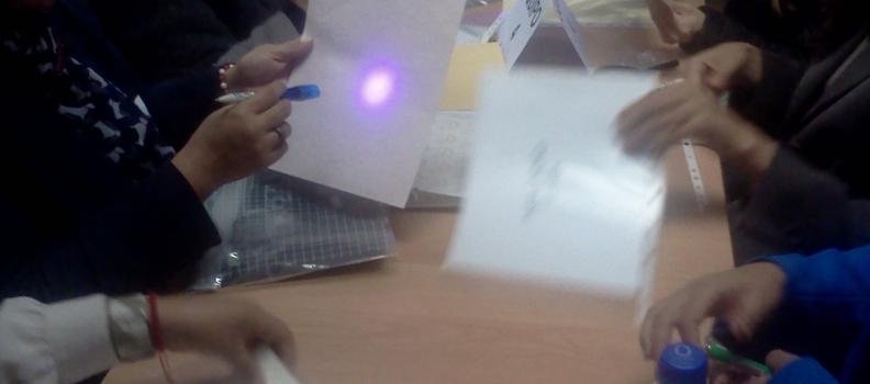 Taller para la detección de documentos apócrifos en Puebla