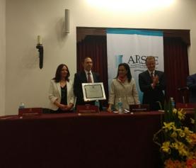 Entrega de Acreditación a la Universidad Panamericana, México